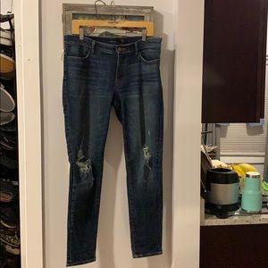 J brand size 31 ripped jeans